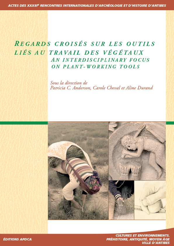 Publication | Actes des XXXIIIe rencontres – Regards croisés sur les outils liés au travail des végétaux