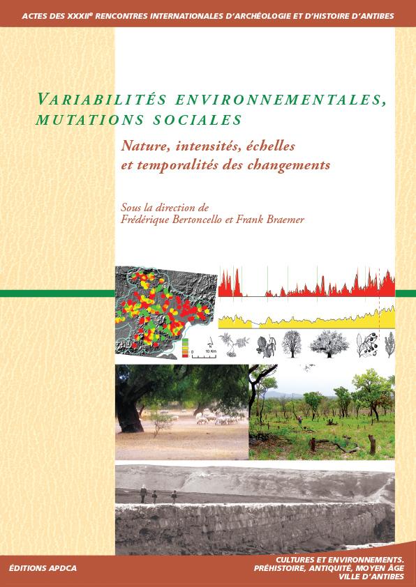 Publication | Actes des XXXIIe rencontres – Variabilités environnementales, mutations sociales. Nature, intensités, échelles et temporalités des changements.