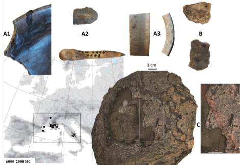 Article | Management systems of adhesive materials throughout the Neolithic in the North-West Mediterranean