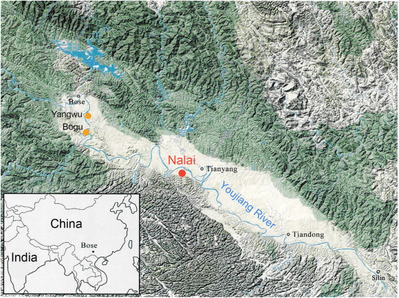 Article | First 40Ar/39Ar analyses of Australasian tektites in close association with bifacially worked artifacts at Nalai site in Bose Basin, South China: The question of the early Chinese Acheulean